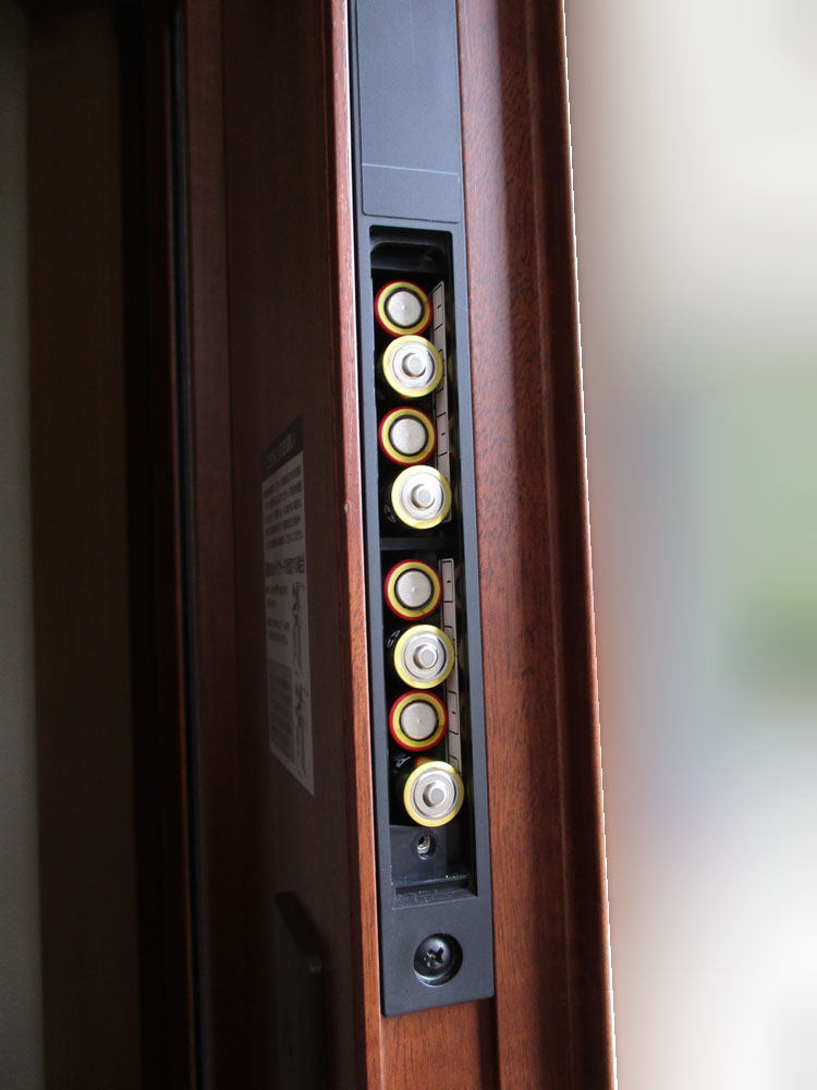 玄関ドア リモコンキー タッチキー 電池交換