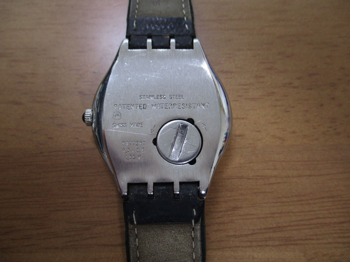 腕時計 SWATCH 電池交換