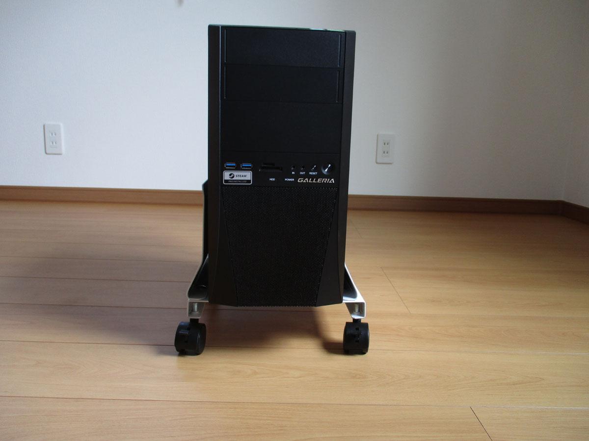 パソコン ラック キャスター PCスタンド CPUスタンド スチール